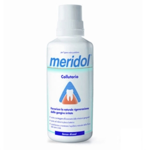 meridol Linea Igiene Dentale Quotidiana Collutorio Gengive Irritate 400 ml