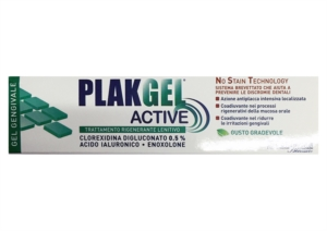 Polifarma Linea Igiene Dentale Plak Gel Active 0,5 con Acido Ialuronico 30 ml